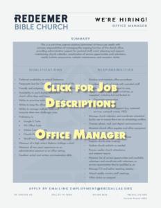 Click to see job description